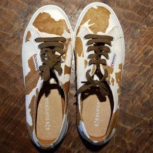 SUPERGA Cowhide Shoes
